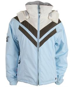 E408 Joan Of Dark Snowboard Jacket Baby Blue/BDark/Cream