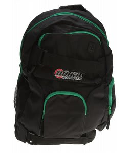 House Backpack Black/Green