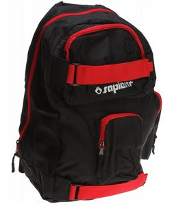 Sapient Logo Backpack Black/Red