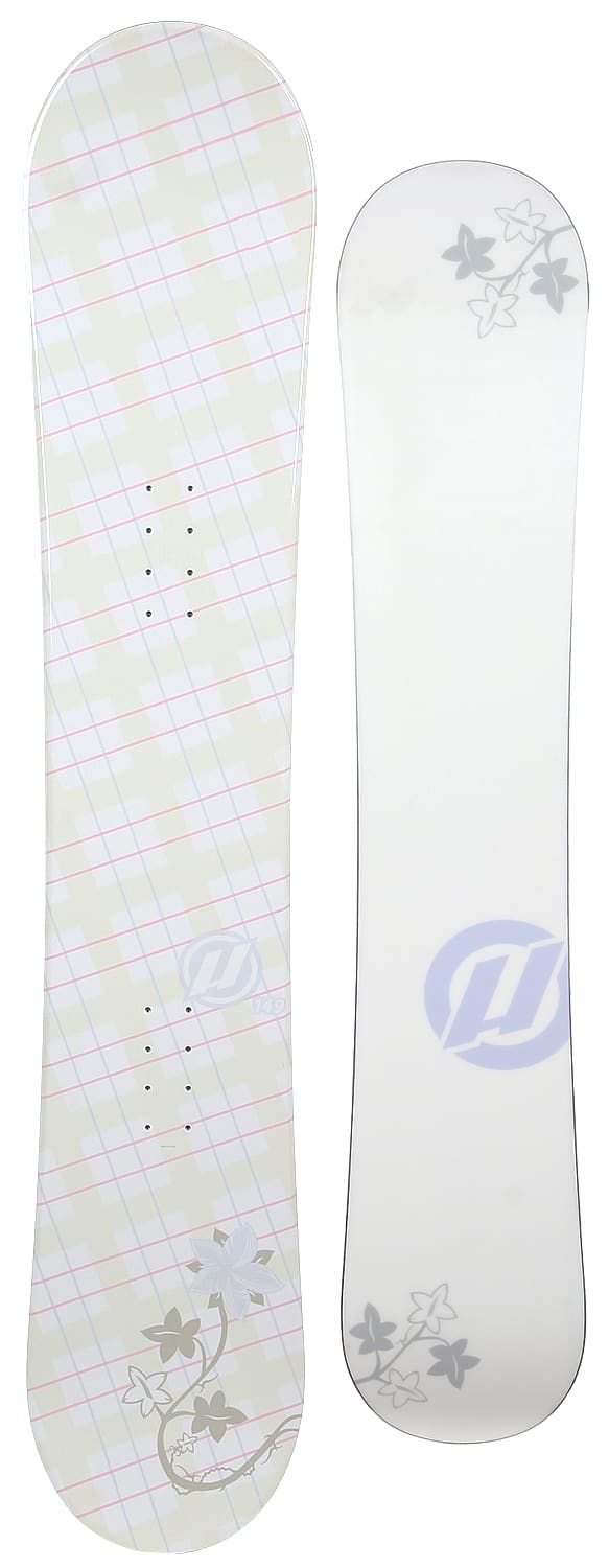 Shop for House Plaid Flower Snowboard 154 - Women's