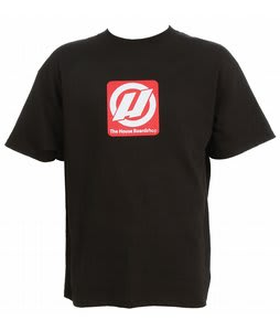 House Big Red Logo T-Shirt Black