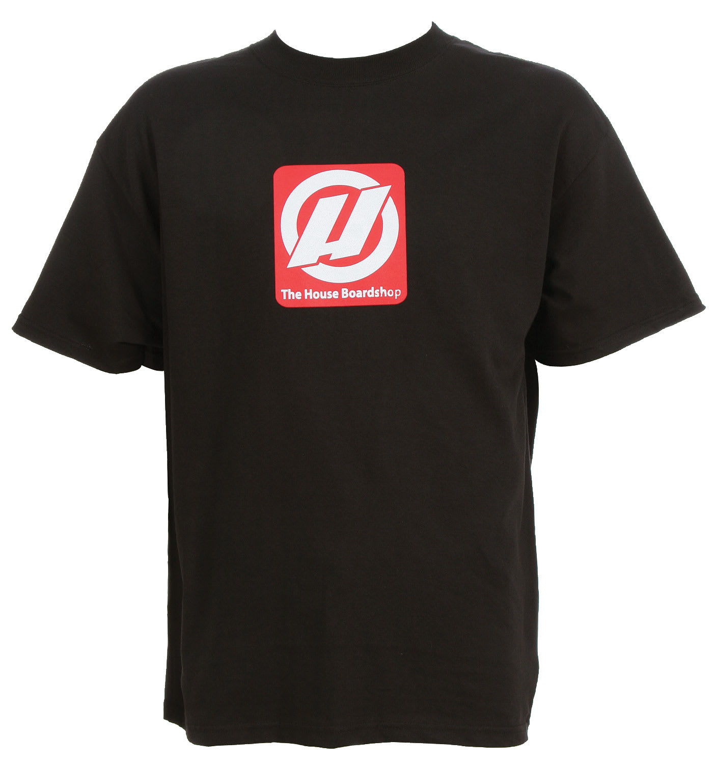 Shop for House Big Red Logo T-Shirt Black - Men's