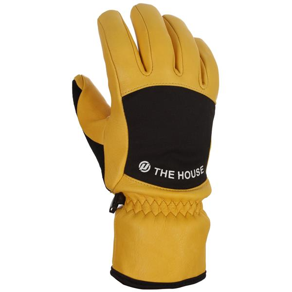House Rope Tow Leather Gloves