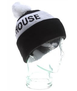 House Too House 2 Beanie Black/White