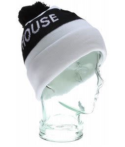 House Too House 2 Beanie White/Black