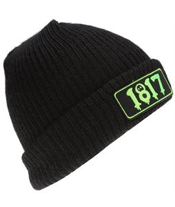 House Of 1817 Numbers Beanie Black