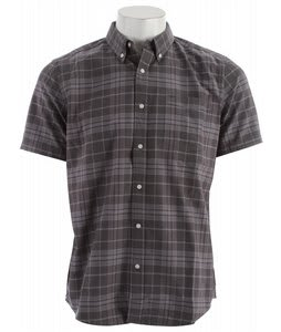 Hurley Ace Oxford Shirt Black Plaid 2