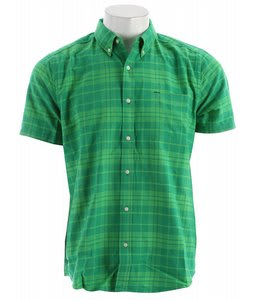 Hurley Ace Oxford Shirt Green Plaid 2