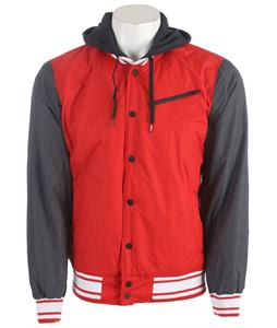 Hurley All City Rook Jacket Redwing