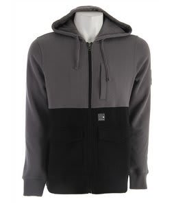 Hurley Authority Hoodie Heather Grey