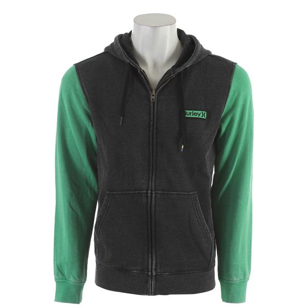 Hurley Burnout Zip Up Hoodie