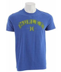 Hurley Changer T-Shirt Heather Royal