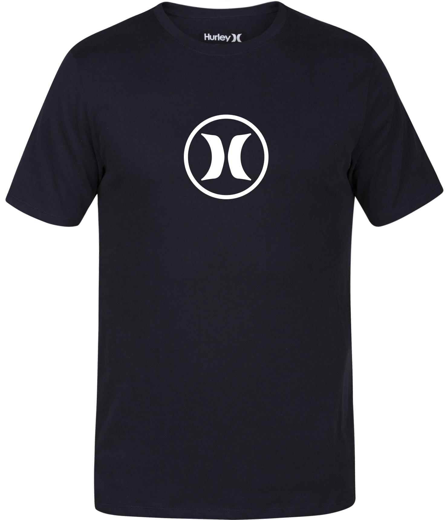 Hurley Circle Icon Dri-Fit T-Shirt hr3cidf06bk17zz-hurley-t-shirts
