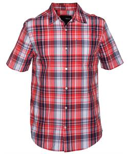Hurley Costa Shirt Daring Red