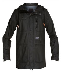 Hurley Covert Utility Jacket Black