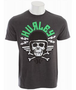 Hurley Death From Above T-Shirt Heather Black
