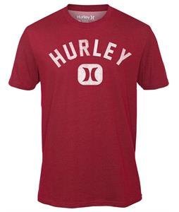 Hurley Department Dri-Fit T-Shirt Heather Valiant Red