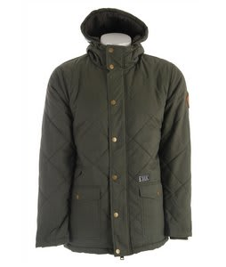 Hurley Disorder Jacket Dark Forest