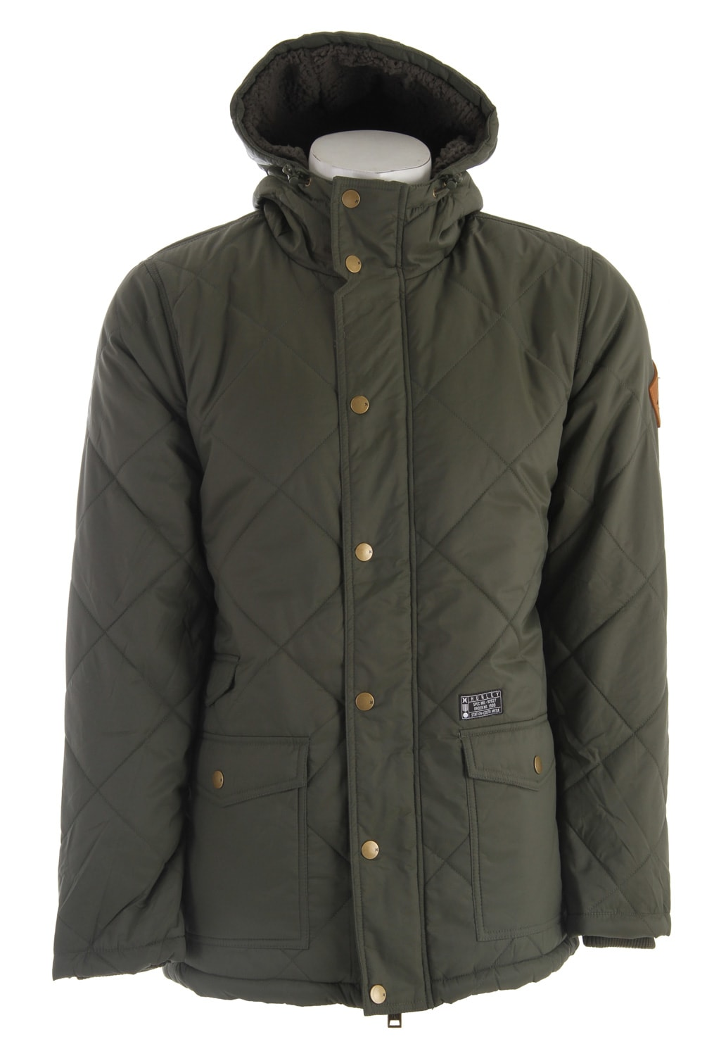 Shop for Hurley Disorder Jacket Dark Forest - Men's