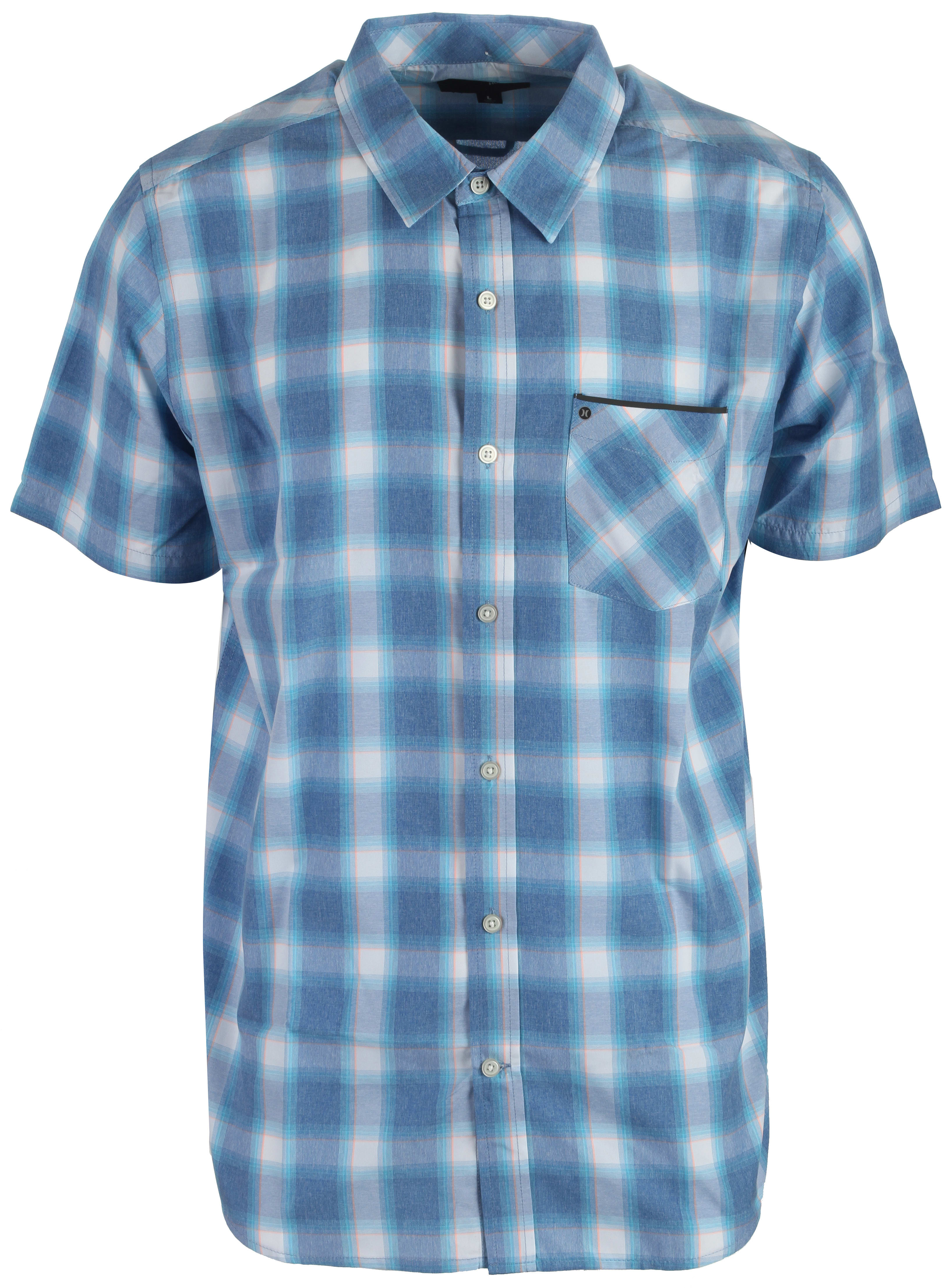 On sale hurley dri fit dakota shirt up to 45 off for Dri fit shirts on sale
