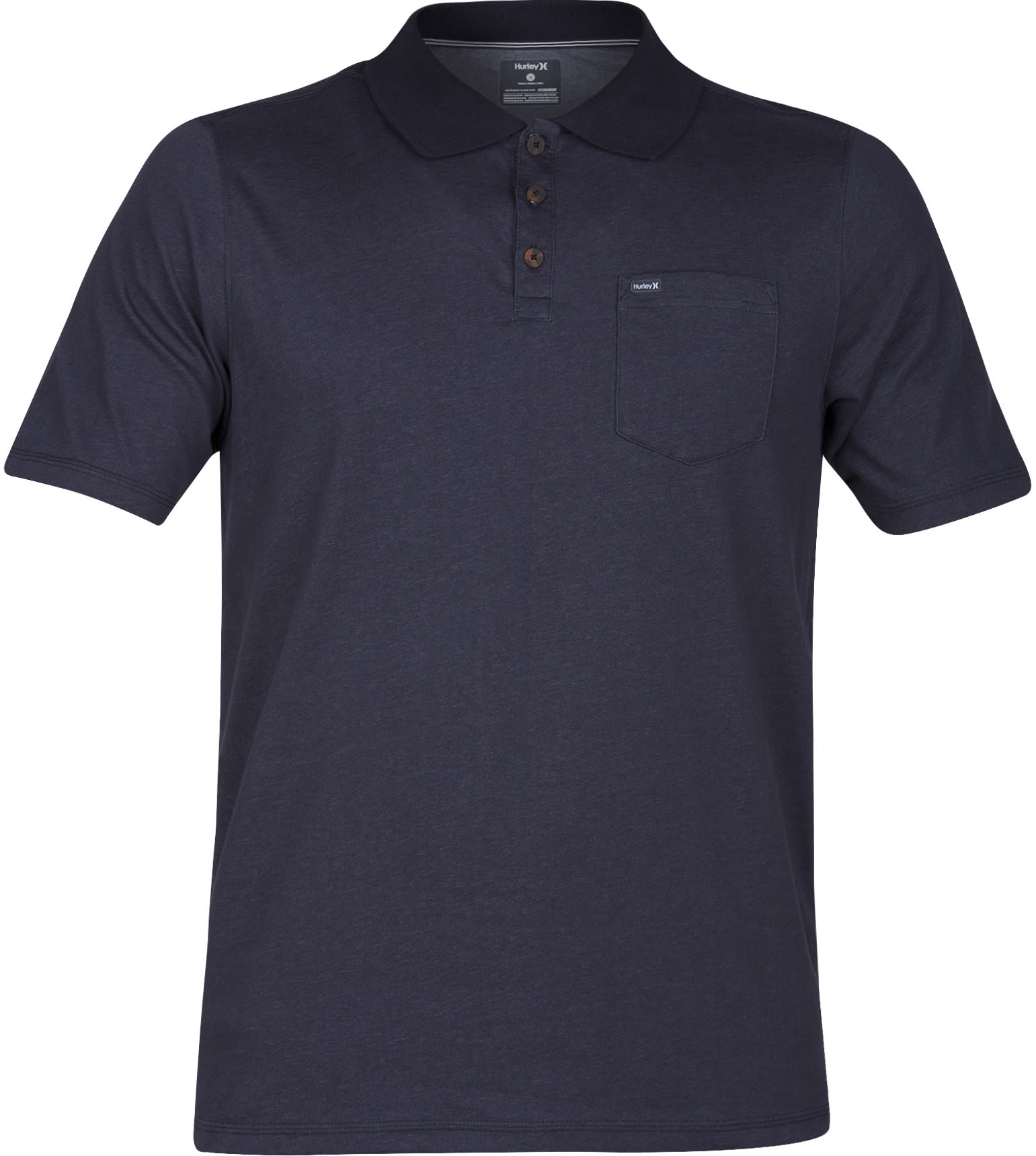 On sale hurley dri fit lagos 3 0 polo up to 40 off for Dri fit shirts on sale