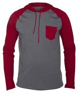 Hurley Durham Pullover Raglan Heather Medium Ash