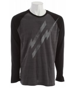 Hurley Electrolite Raglan Cinder