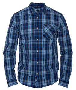 Hurley Elliot L/S Shirt Midnight Navy
