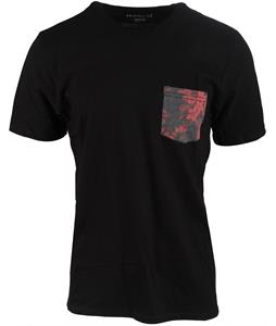 Hurley Floral Pocket T-Shirt