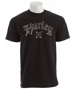 Hurley Fringe T-Shirt Black