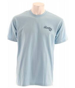 Hurley Go Surf Charlie T-Shirt Light Blue