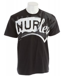 Hurley Halfback T-Shirt Black