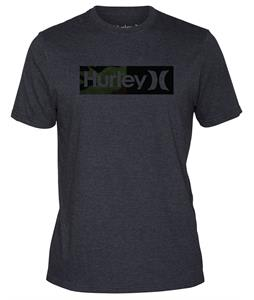 Hurley Halfer T-Shirt Heather Black