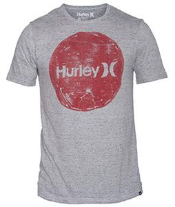 Hurley Hand Krush T-Shirt Heather Black