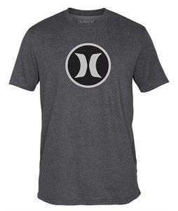 Hurley Icon Dri-Fit T-Shirt Heather Graphite B