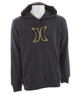 Hurley Icon Pullover Hoodie Heather Navy