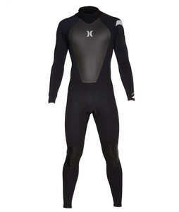 Hurley Icon 302 Back Zip Wetsuit Black