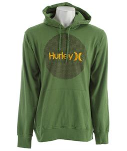 Hurley Krush & Only Mesh Hoodie Heather Forest