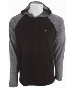 Hurley Mesa Henley Heather Black