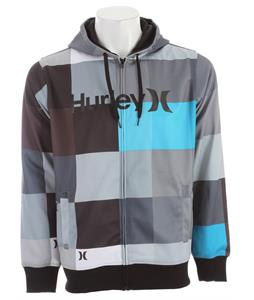 Hurley Multi Zip Hoodie Cinder