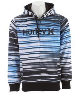 Hurley Multi Zip Hoodie Cyan