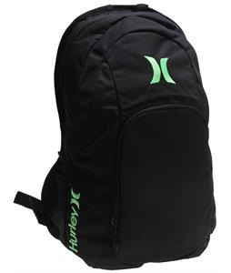 Hurley One & Only Backpack Black/Neon Green