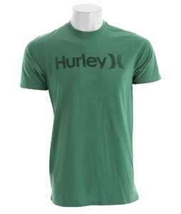 Hurley One & Only Color Bar T-Shirt Heather Kelly Green