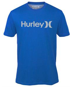 Hurley One & Only Dri-Fit T-Shirt Heather Sports Blue C