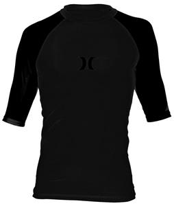 Hurley One & Only Rashguard Black