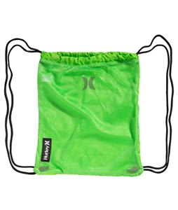 Hurley One & Only Sack Backpack Neon Green