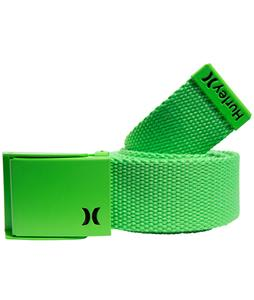 Hurley One & Only Web Belt Neon Green/Black