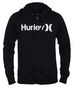 Hurley One & Only Zip Hoodie Black