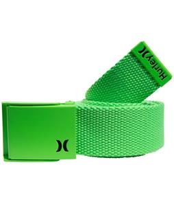 Hurley One & Only Web Belt Neon Green