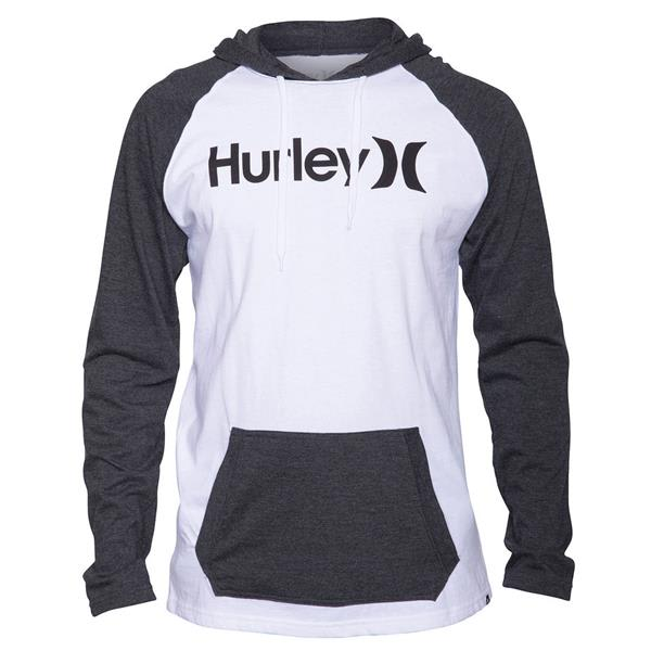 Hurley One & Only Jersey Hooded L/S Raglan